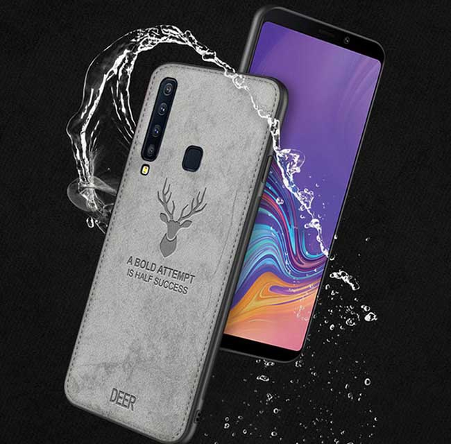 قاب محافظ گوزنی سامسونگ Cloth Texture Deer Case Galaxy A9 2018 | A9 Star Pro | A9s