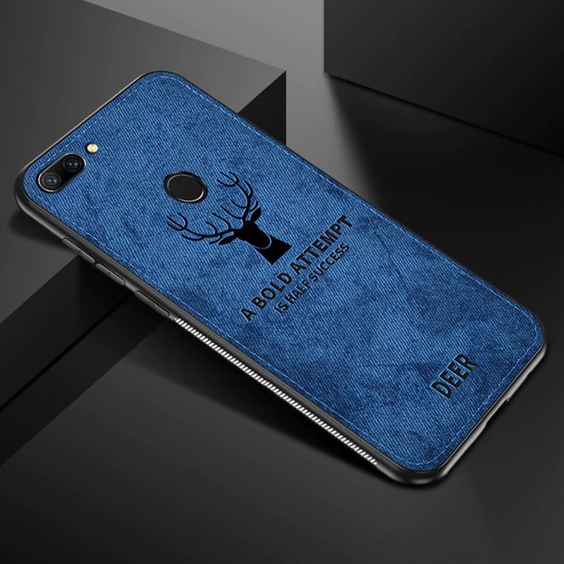 قاب گوزنی سامسونگ  Cloth Pattern ShockProof Deer Case Galaxy A10s