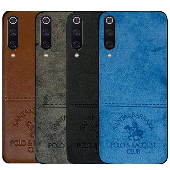 قاب پولو شیائومی POLO Cloth Pattern Vintage Case  Mi 9