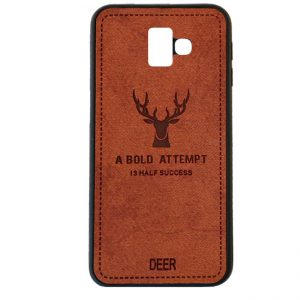 قاب گوزنی سامسونگ  Silicone Cloth Pattern Deer Case Galaxy  j6 Plus /  j6 Prime