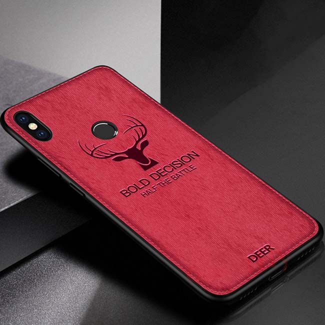 قاب گوزنی شیائومی Cloth Pattern Christmas Deer Case Xiaomi Mi 6X | Mi A2
