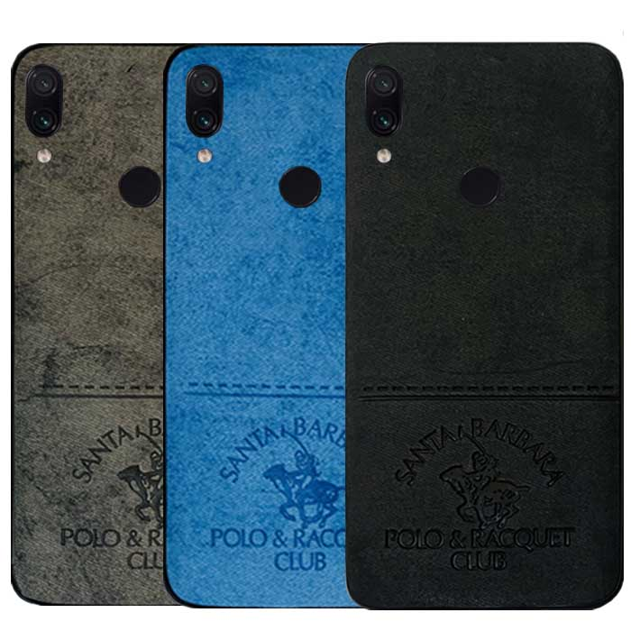قاب پولو شیائومی POLO Cloth Pattern Vintage Case Redmi Note 7 | Note 7 Pro