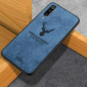 قاب گوزنی سامسونگ Cloth Pattern ShockProof Deer Case Galaxy A60