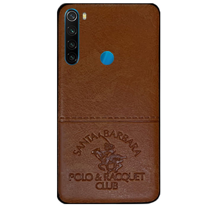 قاب پولو شیائومی POLO Cloth Pattern Vintage Case Redmi Note 8