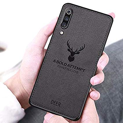 قاب گوزنی سامسونگ  Cloth Pattern ShockProof Deer Case Galaxy A50