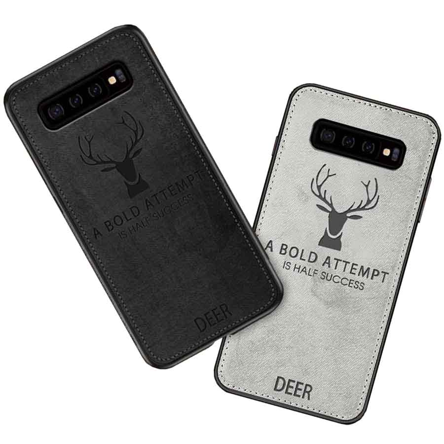 قاب گوزنی سامسونگ Vintage ShockProof Deer Case Galaxy S10 Plus